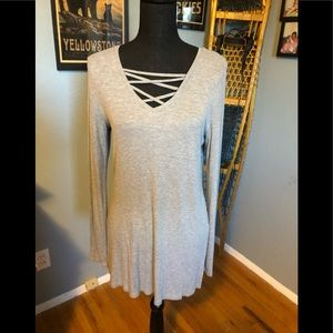 Woman's ribbed blouse